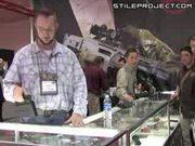 FMG-9 - Foldable Machine Gun Flashlight Demo