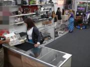Milf sells stuff n banged to earn money for her hubbys bail