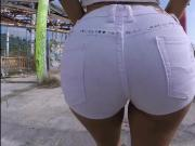 Thick ass Franceska Jaimes ass fucking and squirting