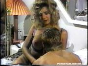 Big boob blonde pornstar sucks and rides a hard cock