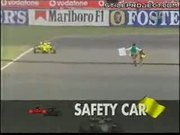 Crazy Man On The Race Track