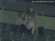 Ballpark Stadium Couple Sex Fun