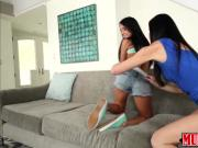 Milf India Summer caressing hot and sexy lesbian teen