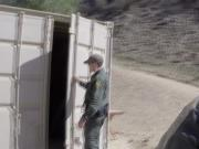 Sweet Brunette Paisley Parker Gets Caught By The Mexican Border Patrol