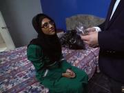 Hot arab hijab and blonde arab Desperate Arab Woman Fucks For Money