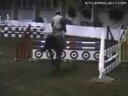 Equestrian riding FAIL