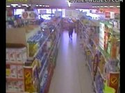 Bull In A Grocery Store