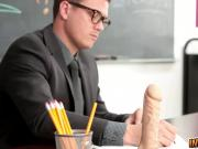 Sexy Teachers Assistant Gets Fucked
