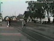 Little Girl Vs. Train