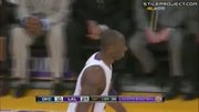 Kobe Circus Shot Over The Backboard From Behind The Basket
