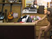 Tight amateur babe nailed by pawn dude at the pawnshop