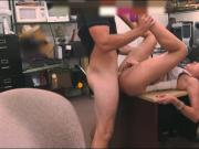 Big boobs latin babe railed by pawn guy at the pawnshop