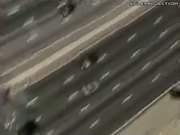 Man Thrown From Car Crash Then Gets Run Over
