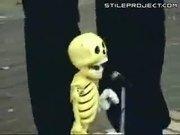 Halloween Skeleton Man Puppet Show