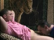 Young straight amateur blown by old gay