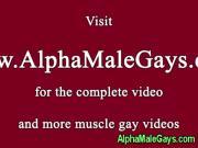 Hairy gay bear receives his ass banging