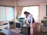 Japanese Girl Banged At The Office