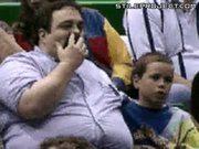 Big Dad Picks Nose & Eats Booger
