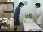 Japanese Cutie Gets A Massage