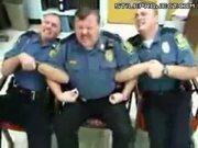 Three cops getting tasered
