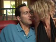 Rebellious Blonde Cougar Enjoys Cocksucking & Rough Sex