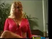 Blonde Cougar Fucked In The Butt