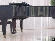 Danny tickled Jennas ivories with his tongue