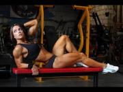 Real Hot Muscled Gym Girls!