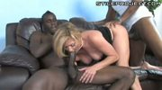 Hot mature lady threesome with big black dicks