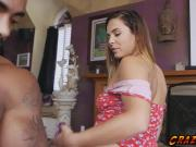 Busty babe Keisha Grey getting banged hard