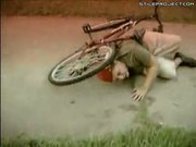 Epic Kid Faceplants On Bike