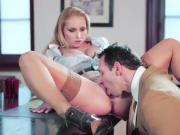 Boss And Kathia Nobili Taste Each Other For An Afternoon Fuck