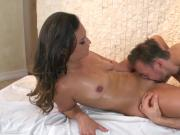 Kelsi Monroe does doggystyle at massage