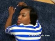 Damn hot black girlfriend suck and fuck