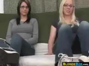 Cute Girls Playing With Their Feet