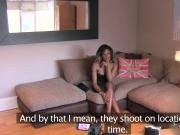 British ebony amateur interracial casting