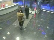 Revolving Glass Door Accident - Oops!