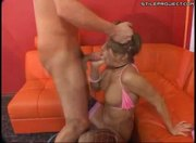 Natalia Rossi fucks and sucks