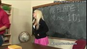 College Gal Helps Hungover Hung Professor