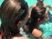 Let's watch Bridgete and Sunni's awesome threesome