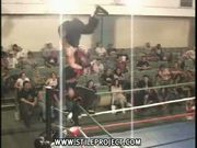 epic wrestling move fail!