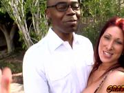 Horny hot babe Tiffany Mynx getting hot and horny