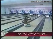 Bowling Strike Celebration Fail