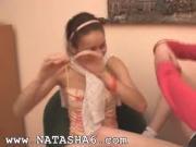 spanish Natasha and Alice at home