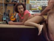 Kinky busty woman banged by pawn keeper at the office
