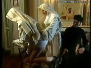 Two nuns sucking, fucking and fisting