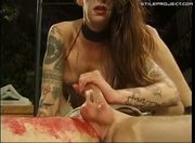 Jen X - Bloody Vampire fetish - anal