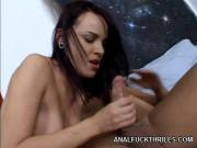 Naughty Pornstar Dana De Armond Swallows Erect Boner