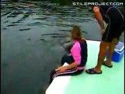 Sexy dolphin encounter