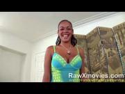 Hot New Ebony Chick POV casting